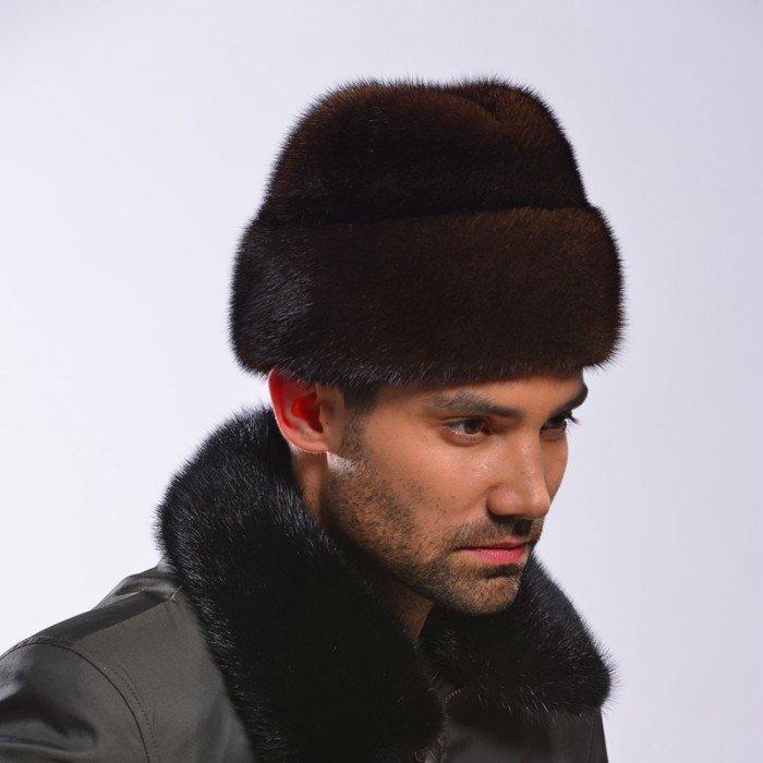 Модные мужские меховые шапки