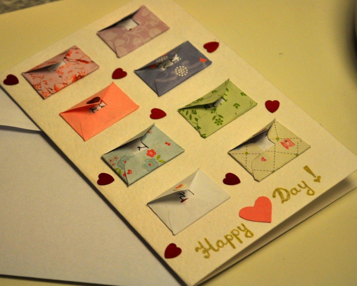 Красивые открытки парню своими руками
