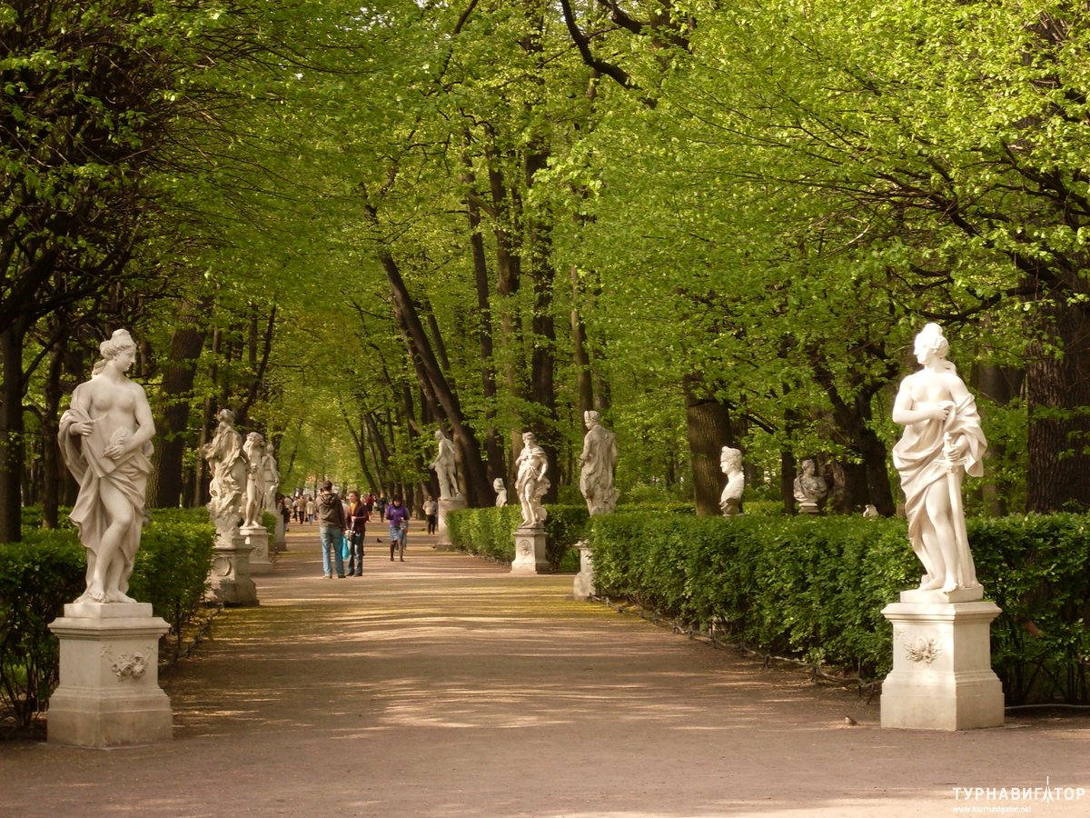 Картинки летний сад санкт петербург, открытка