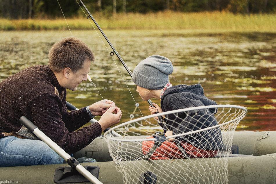 Фото с изображением рыбалки