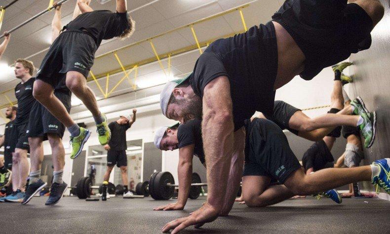 картинки выполнения техники упражнений в кроссфите бить наискось