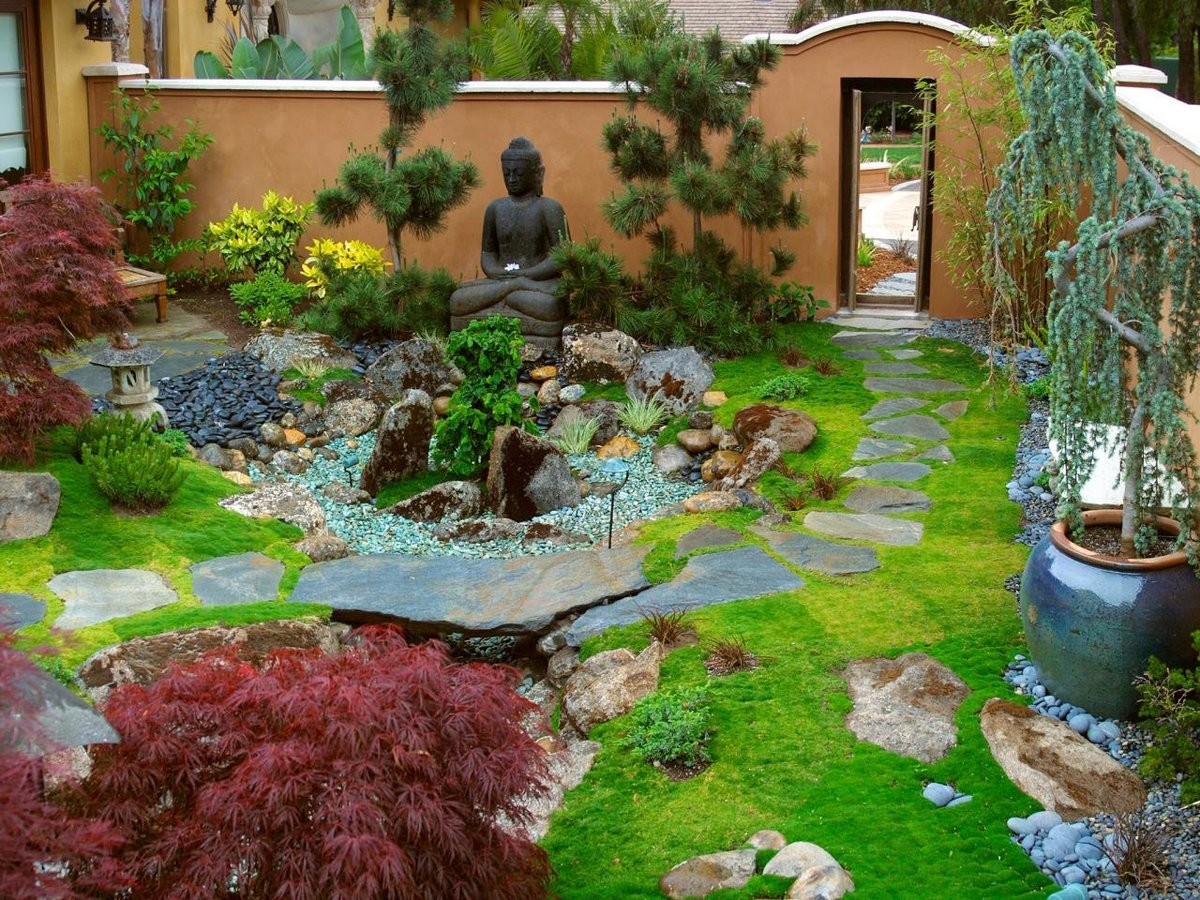 Delightful How To Create A Zen Garden 5 Back Yard Japanese Garden Design Ideas 1280 X  960