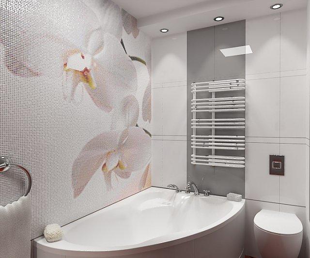 плитка в ванную орхидея фото