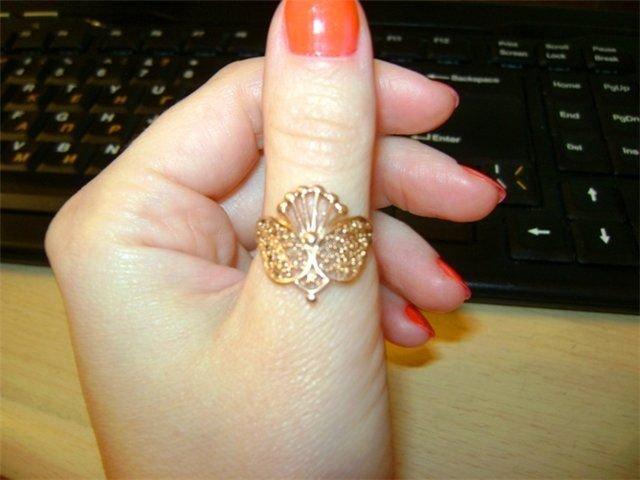 Кольцо на большой палец своими руками 1