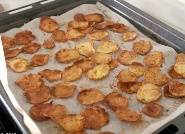 как сделать чипсы в домашних условиях в духовке рецепт