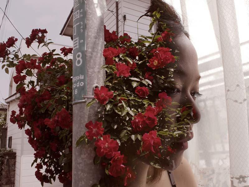 Мики фото с цветами