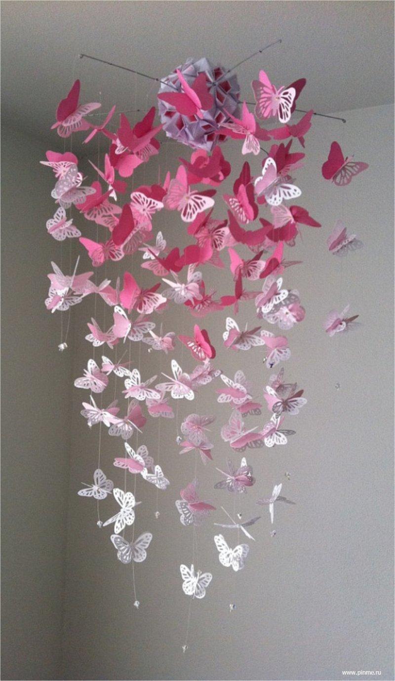 Декор стен бабочками своими руками фото 617