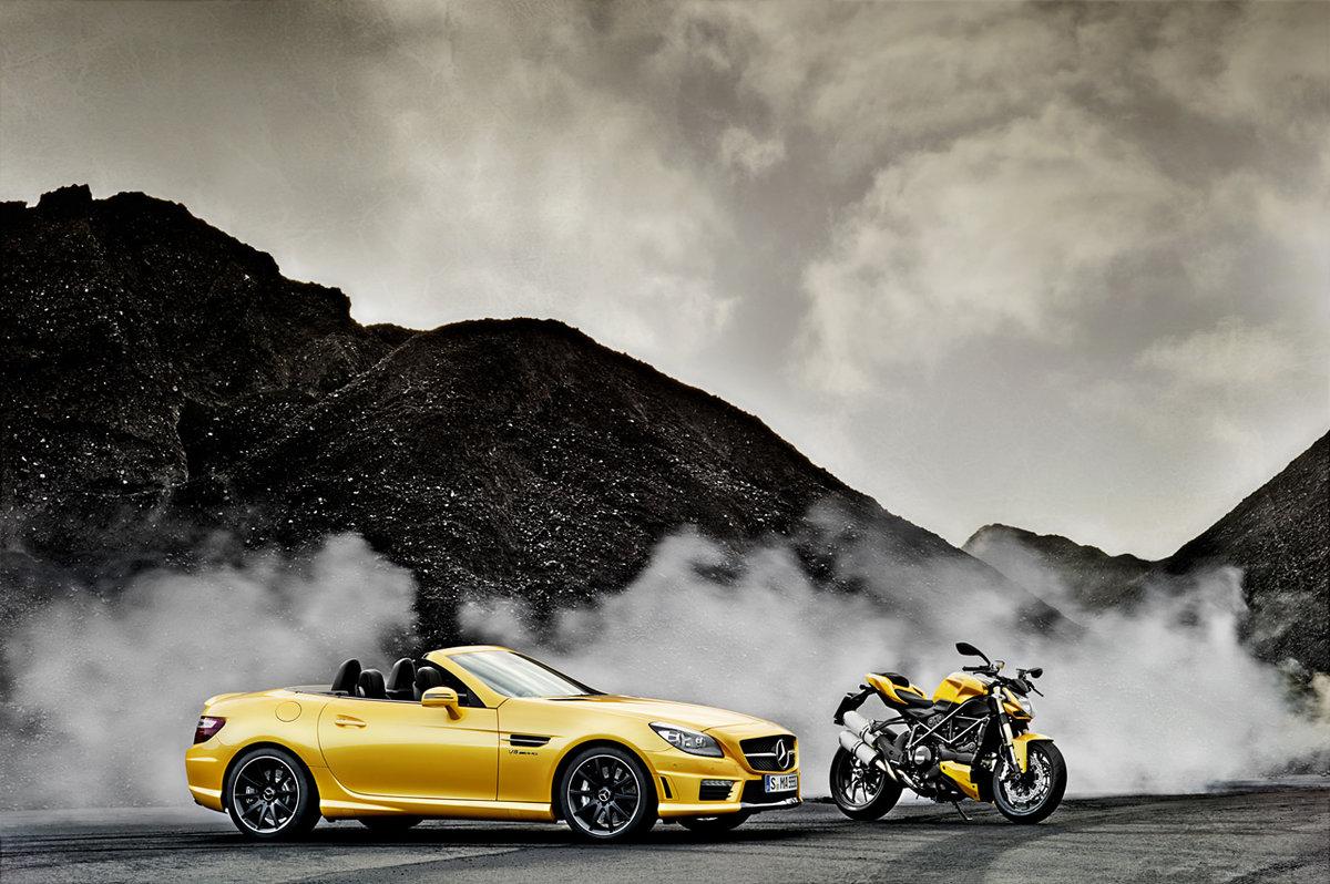 картинки машинки и мотоциклы прекрасные, никого