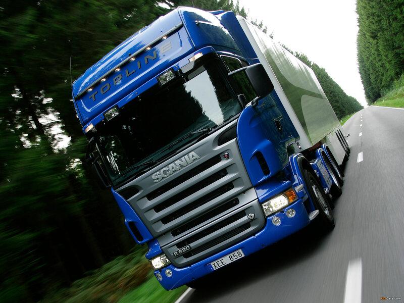 2009 Scania R620 6x2 Topline