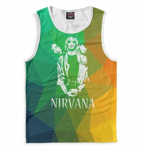 Майка для мальчика Nirvana