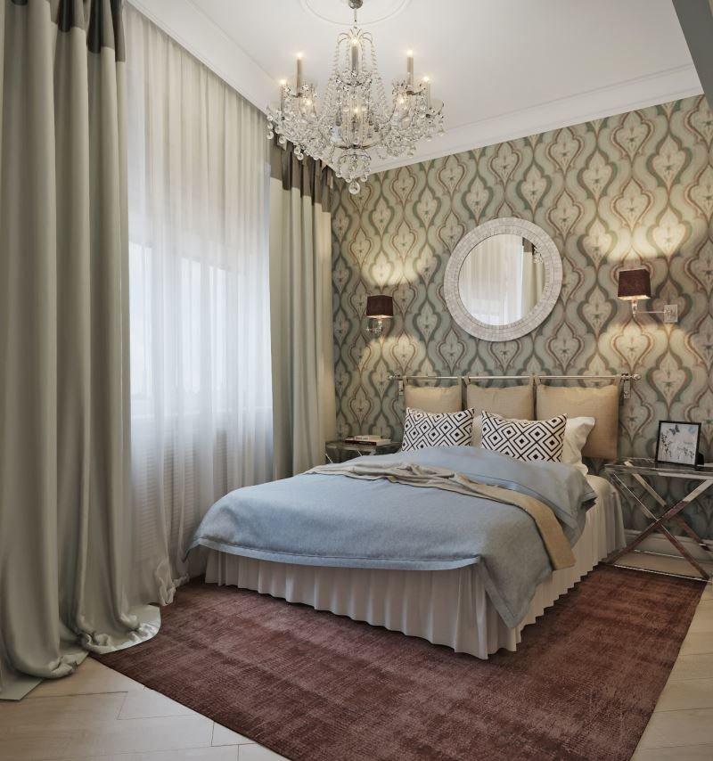 Спальня в лучших традициях модерна