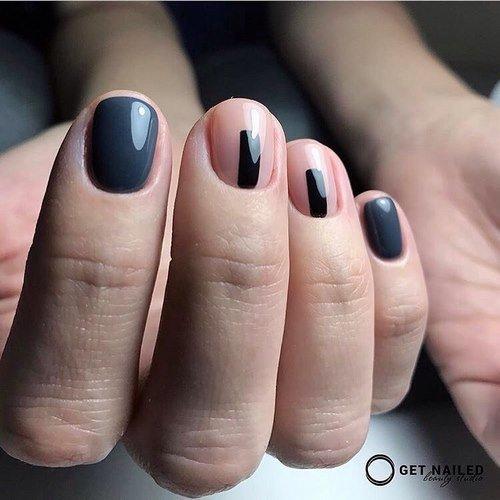 Фото дизайн 2018 шеллак для длинных ногтей