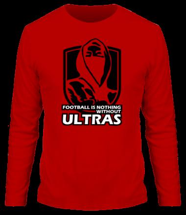Мужская футболка с длинным рукавом Football Ultras
