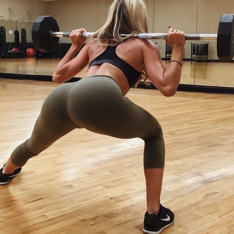 Большая фитнес жопа фото