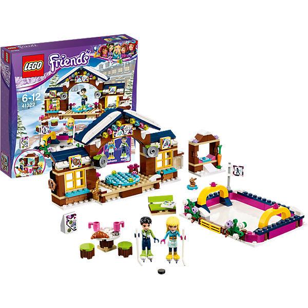 LEGO Friends 41322: Горнолыжный курорт: каток и другие товары для детей в интернет-магазине myТoys.ru. Быстро и недорого с доставкой по всей России.