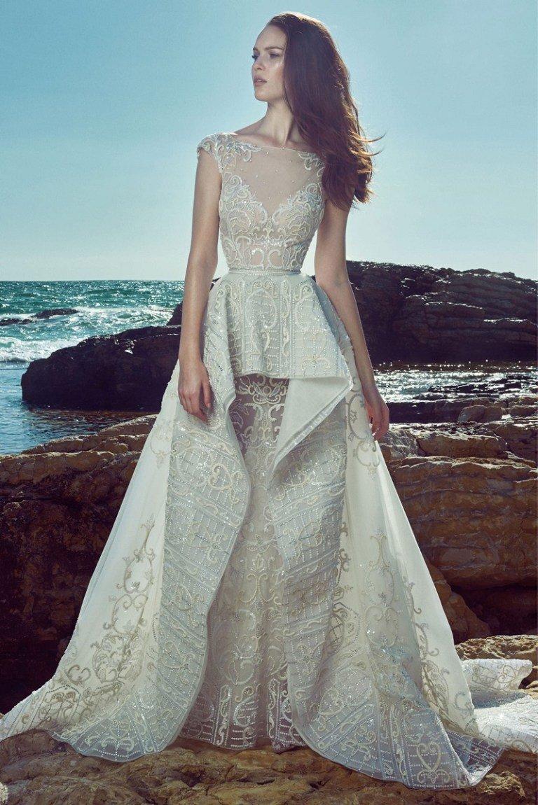 Новая свадебная коллекция 2017 года ливанского дизайнера Zuhair Murad, известного изысканными свадебными платьями украшенными восхитительным кружевом.....