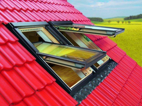 Окно мансардное и крыша