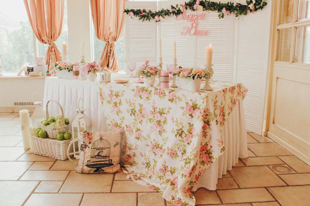 отварите заранее свадьба в стилле шебби-шик исследование