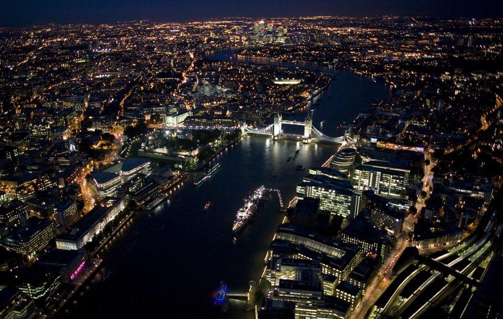 Лондон ночной картинки
