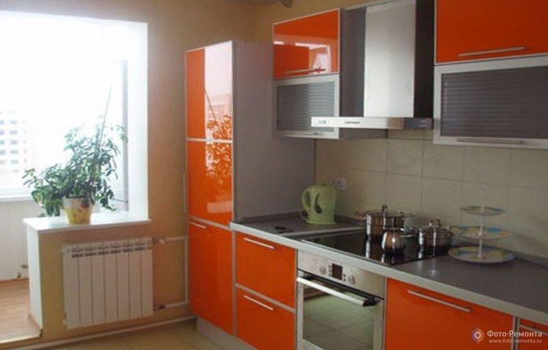 Кухня совмещенная с балконом, фото 9 - кухни. фото-ремонта.р.
