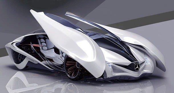 летающий концепт кар хонда