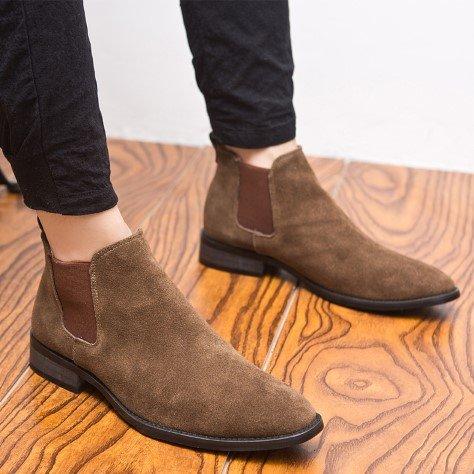 Мужские ботинки челси.