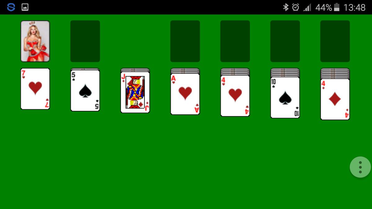 карточная игра свободная ячейка