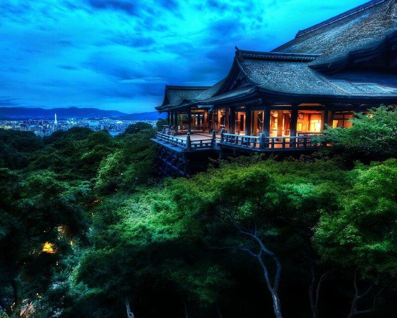 Киото, Япония, размер: 1280x1024 пикселей