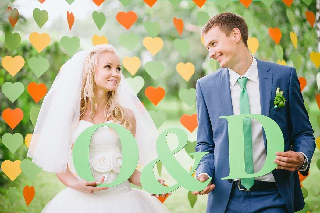 Буквы для фотосессии своими руками на свадьбу способ