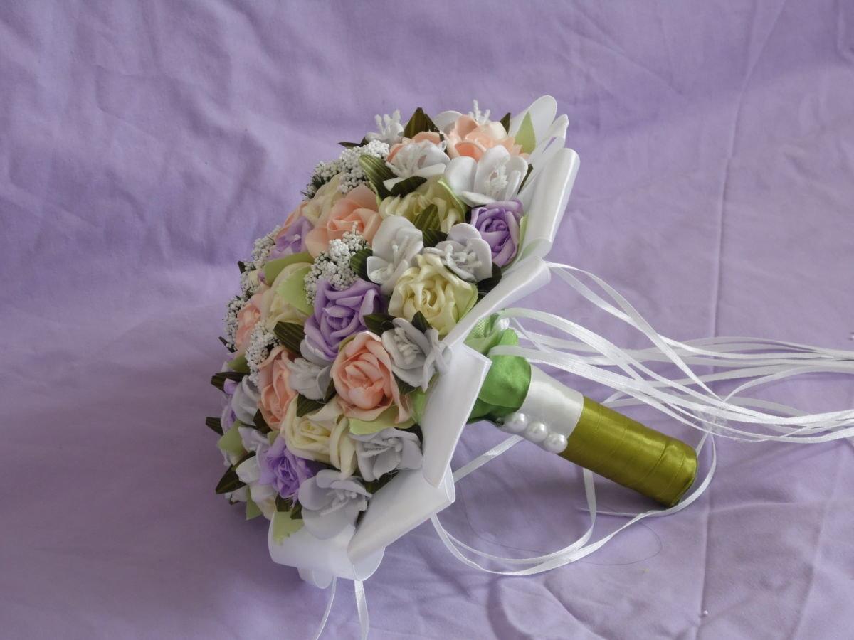 Эксклюзивные букеты для свадьбы своими руками, букет купить