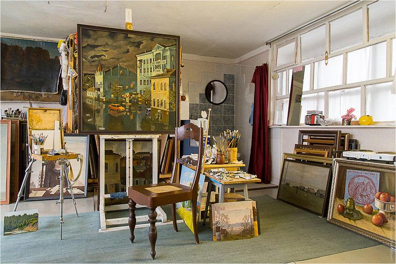 жизни фото комната художника объявлений