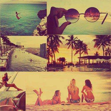 70 карточек в коллекции «Море, Солнце, Пляж» пользователя ... Лето Море Пляж Друзья