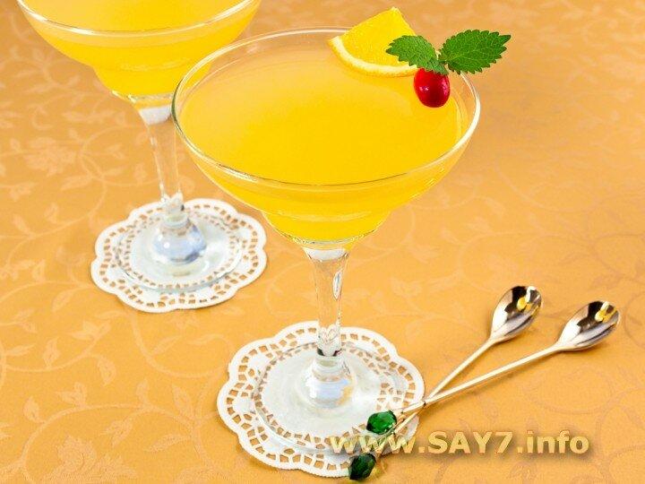 Апельсиновое желе с легкой кислинкой и потрясающим цитрусовым ароматом