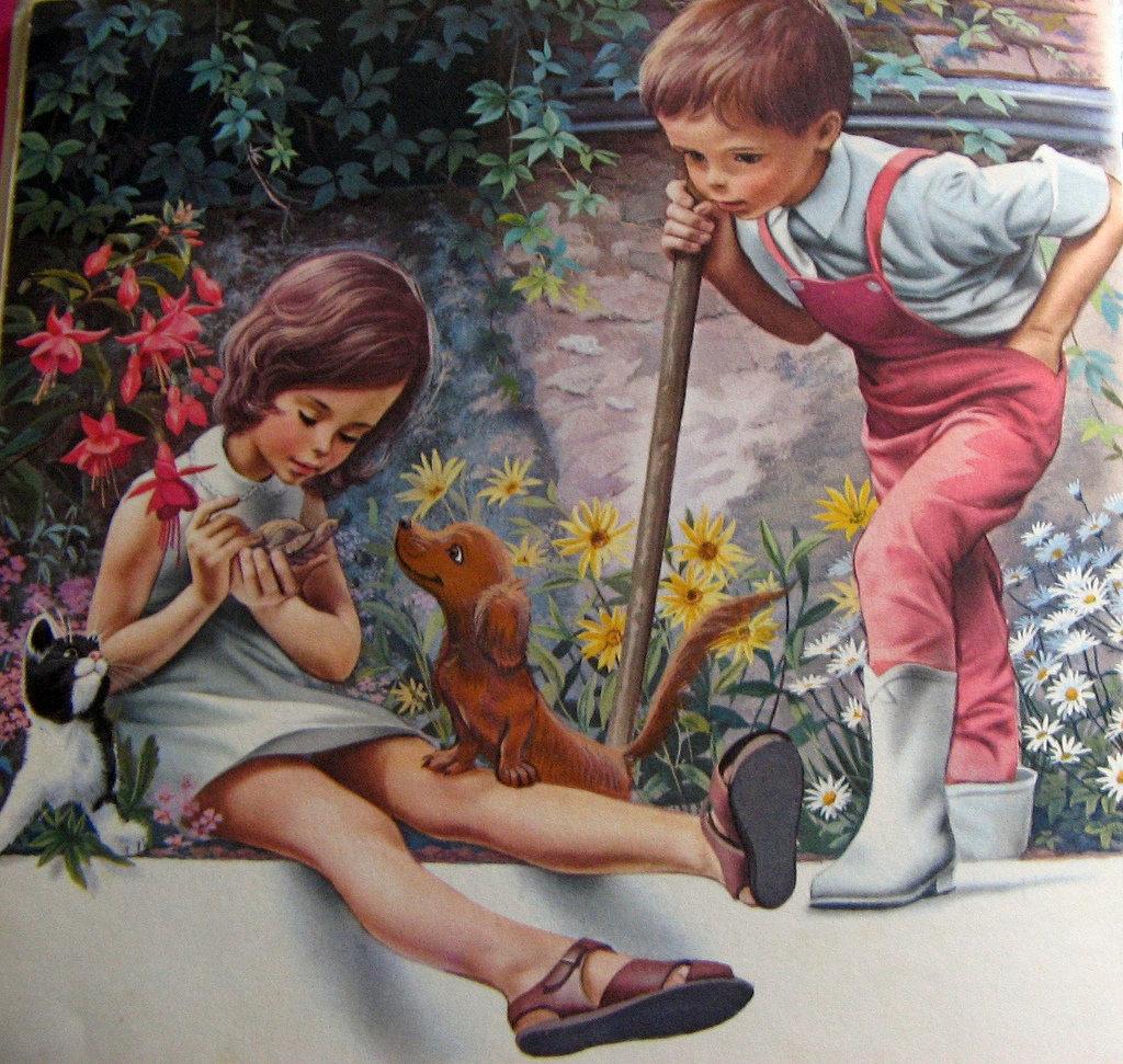 Картинки из сказок про доброту