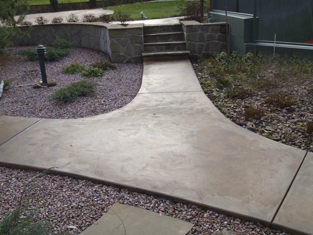 бетонные дорожки расценки
