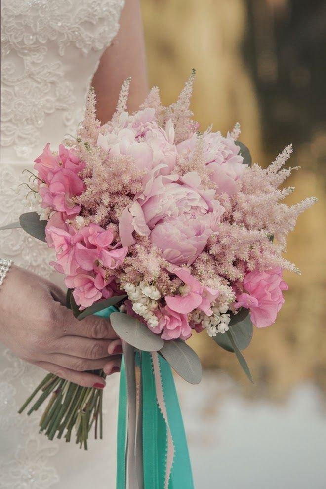 Королевский букет на свадьбу