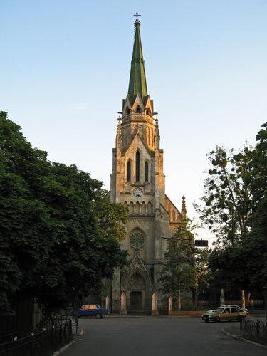 фото черновцы католический собор