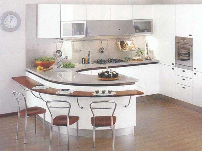 Современный, весьма интересный стиль. Он хорош тем, что при минимуме деталей интерьера, он максимально функционален и очень красив. Оформить в таком стиле можно даже маленькую кухню-столовую.