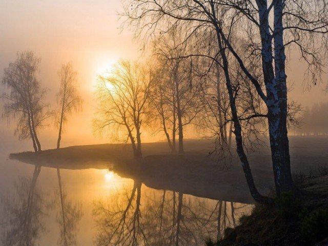 Свердловская область на закате