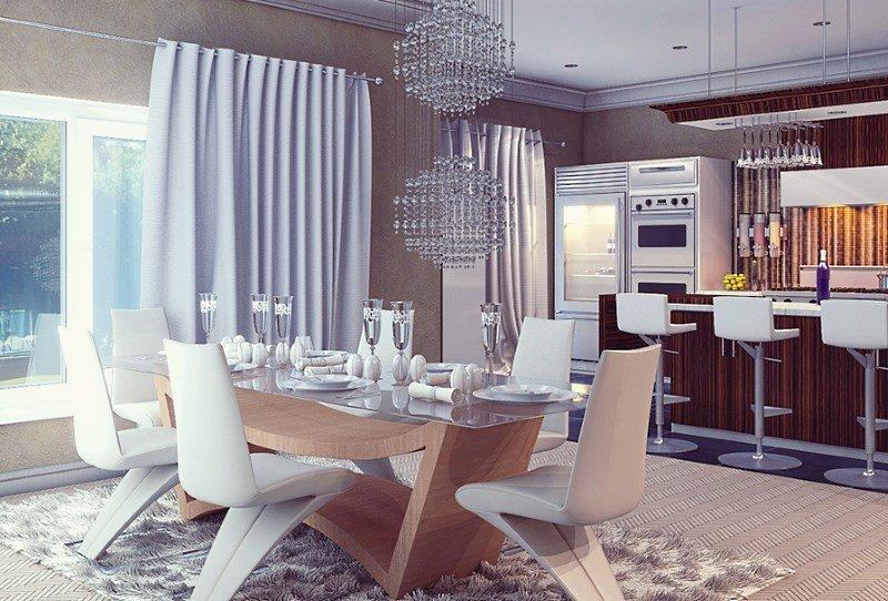 Перенос кухни в коридор увеличивает полезную площадь квартиры