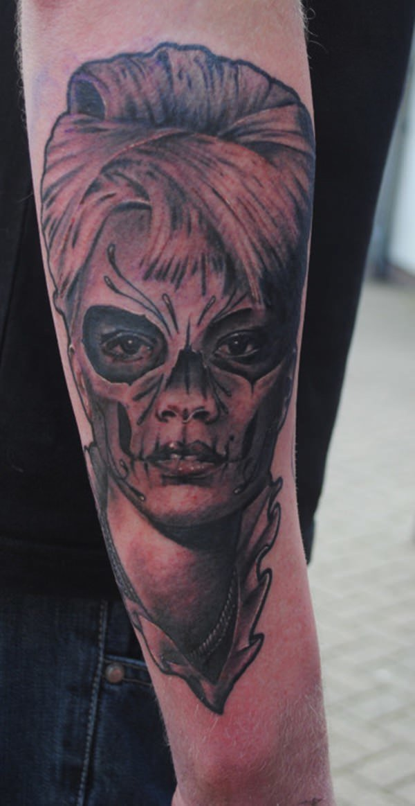60 day of the dead tattoos you will want to get asap - 600×1163