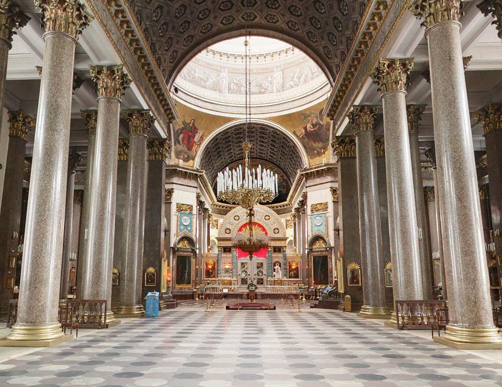 фото казанский собор внутри