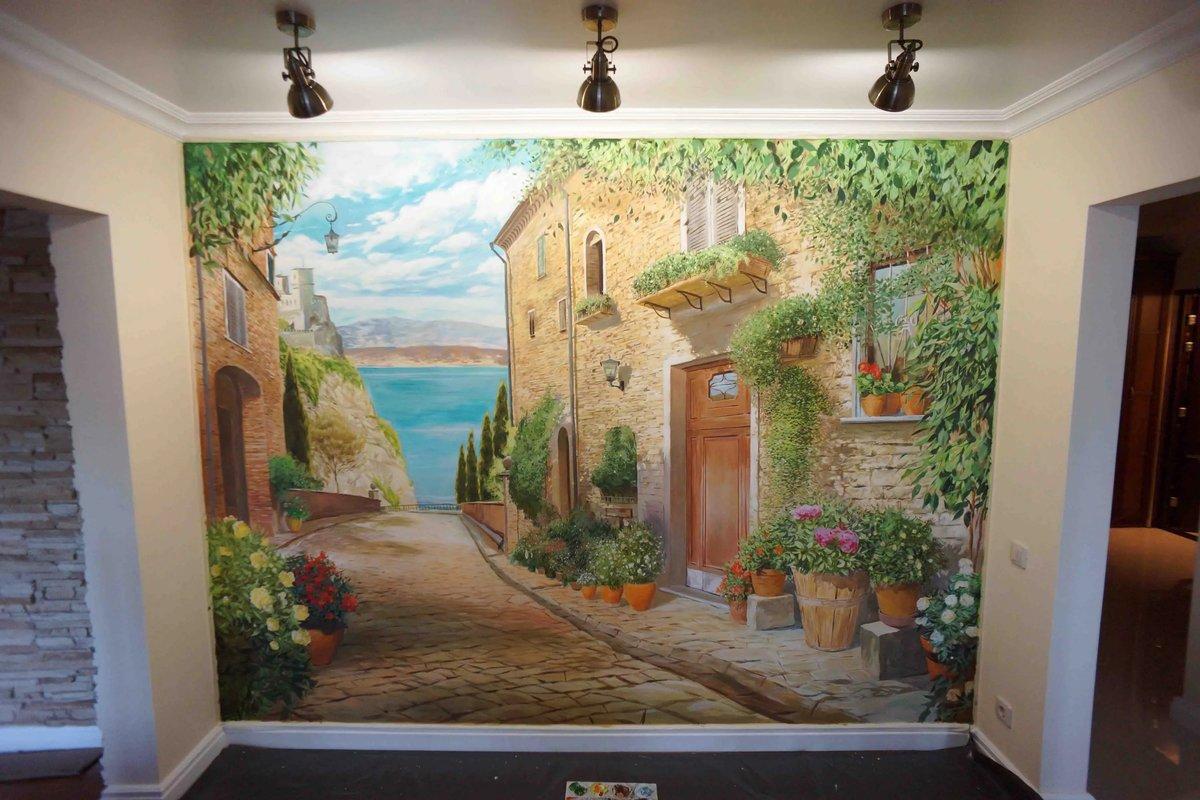 рисунки на стенах природа фото фото-встрече перед