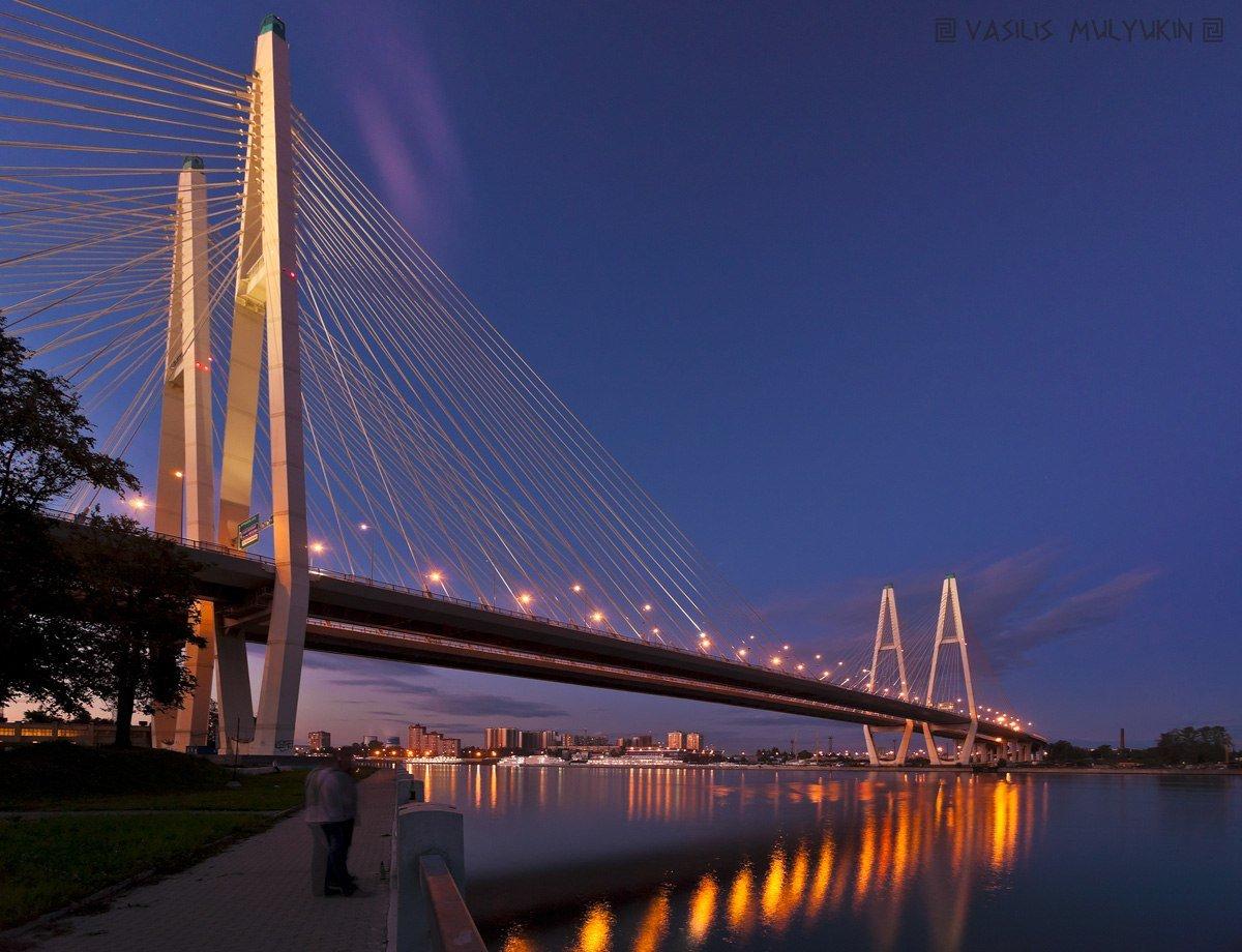 вантового моста фото красивые