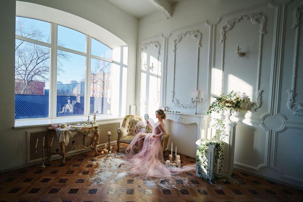 Красивое помещение для фотосессии
