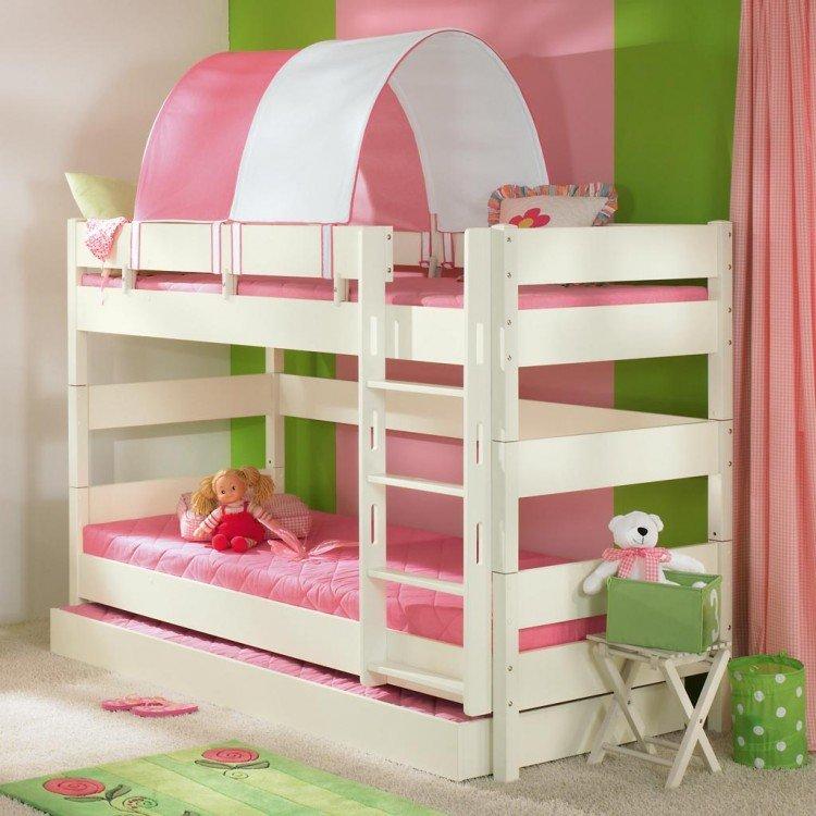 Детские двухъярусные кровати в картинках