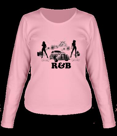 Женская футболка с длинным рукавом Rnb Auto