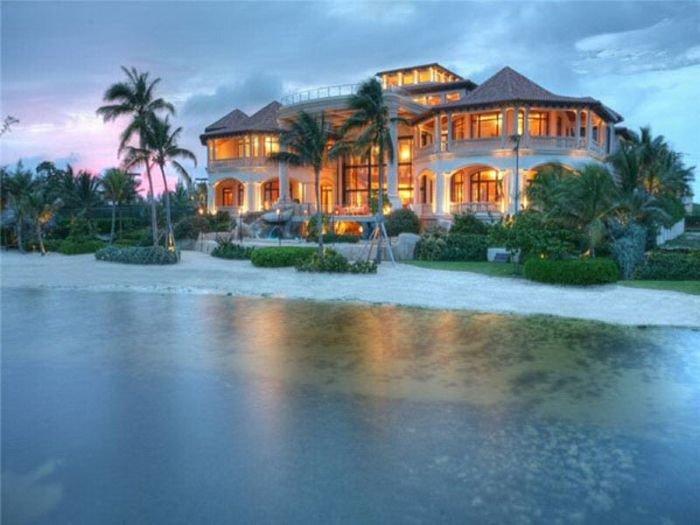 картинки дома на берегу моря