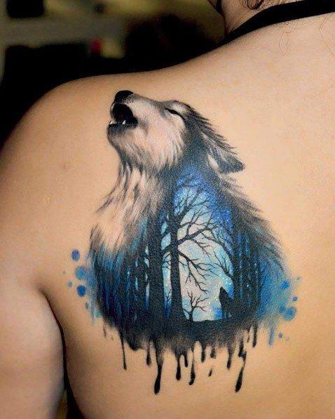 Волк и лес