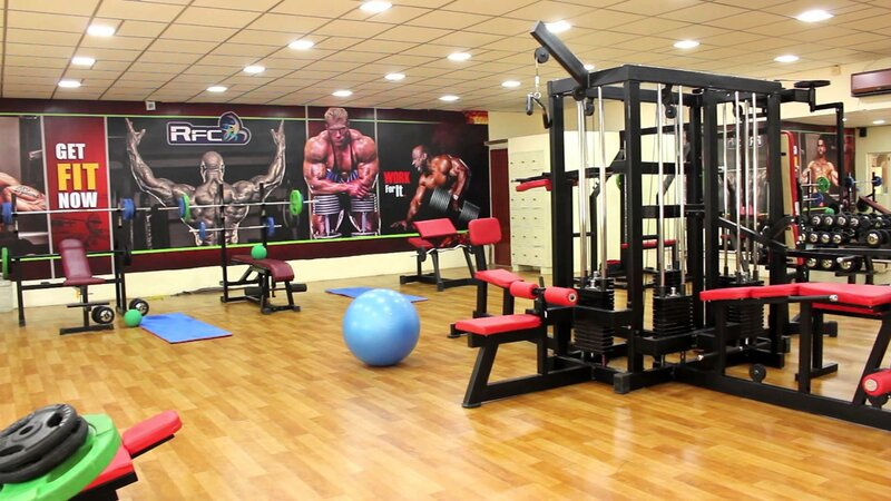 фитнес зал для занятий
